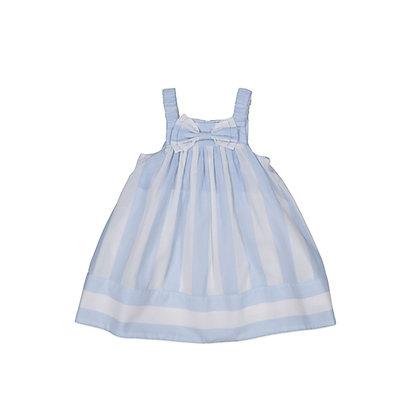 Carbon Soldier Advantage Dress (Blue/Ivory)