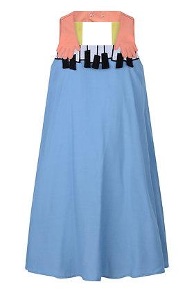 RASPBERRYPLUM PIANO DRESS (BLUE)