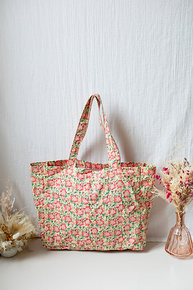 Louise Misha Beverly Tote Bag (Pink Meadow)