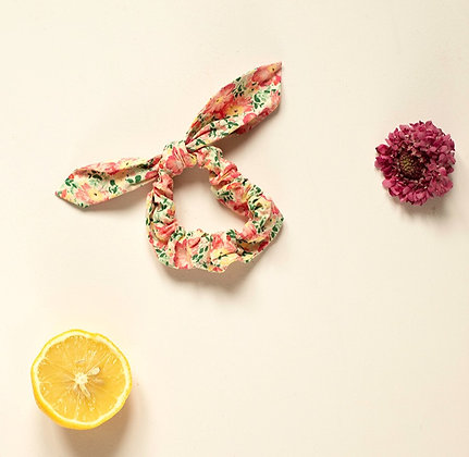 Louise Misha Kimmi Scrunchie (Pink Meadow)