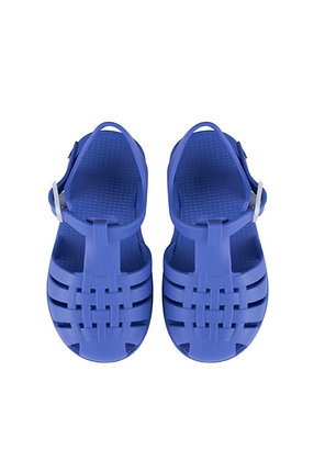Tiny Cottons Jelly Sandals (Iris Blue)