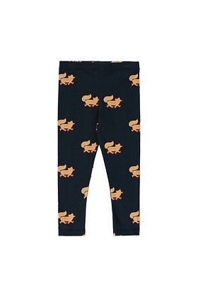 Tiny Cottons 'Foxes' Pant (Navy/Camel)