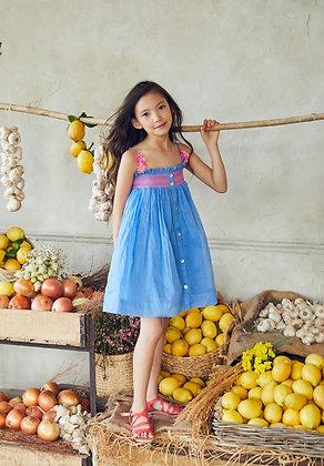 Nellystella Camila Dress (Royal Blue)