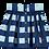 Thumbnail: Beau Loves Button Skirt (Navy/Gingham)
