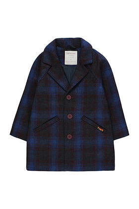 Tiny Cottons 'Tiny' Coat (Blue/Multicolor)