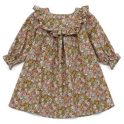 Bonton/Bonbon Baby Dress (Imp Praline)
