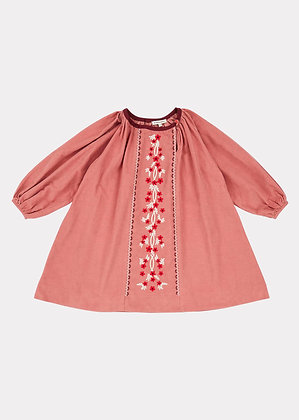 Caramel Nightjar Dress (Camelia Rose)