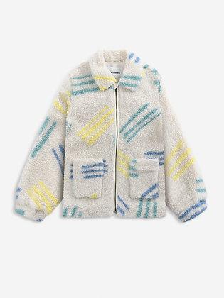 Bobo Choses Scratch All Over Sheepskin Jacket