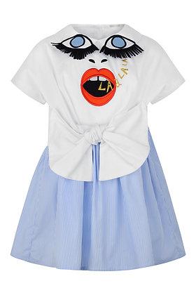 RASPBERRYPLUM LENA DRESS (WHITE)