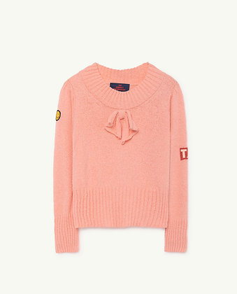The Animals Observatory Horsefly Kids Sweater (Aurora Pink)