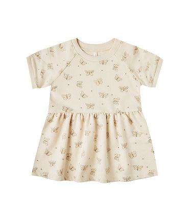 Rylee + Cru Butterfly Raglan Dress (Natural)