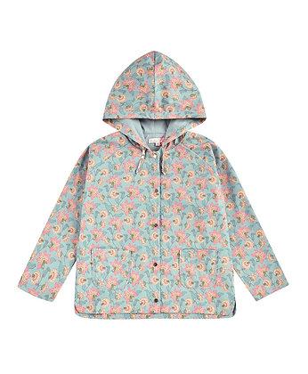 Louise Misha Manoukia Jacket (Turquoise Flowers)