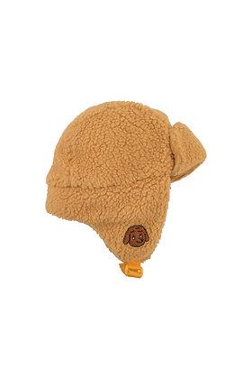 Tiny Cottons 'Tiny Dog' Sherpa Chapka (Camel)