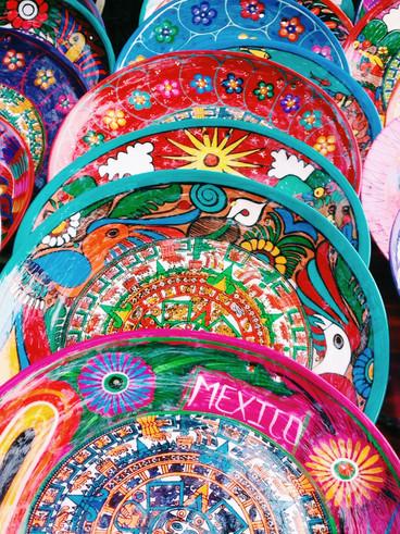 México, lugar de colores y contraste.