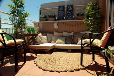 La terraza de Luis