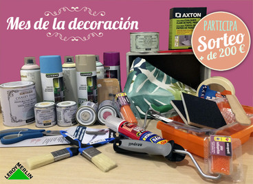 SORTEO KIT!!! Mes de la decoración