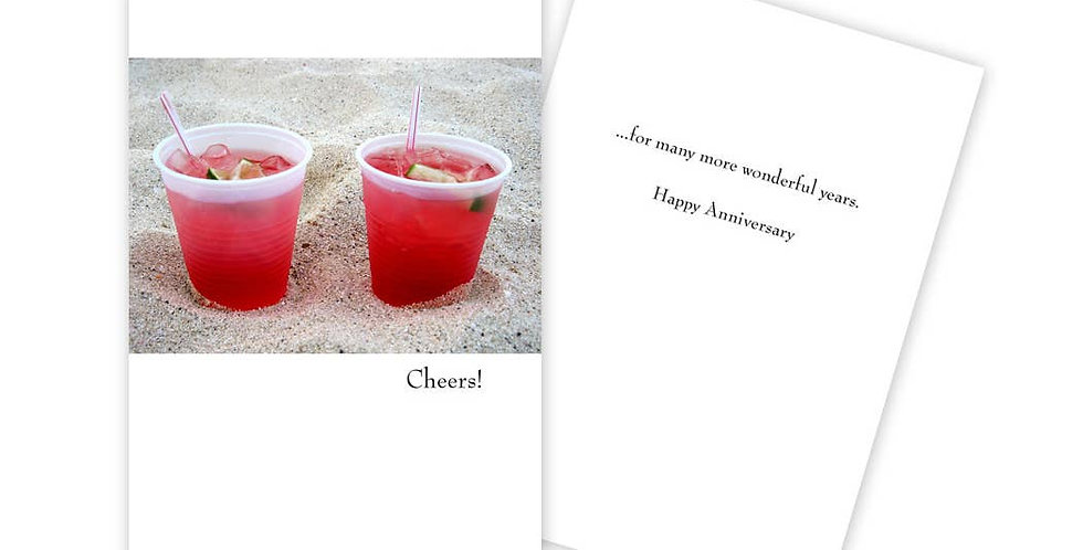 Cheers! Anniversary Card