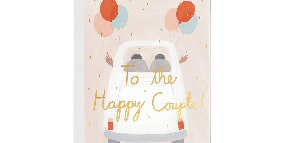 Happy Couple Wedding Card