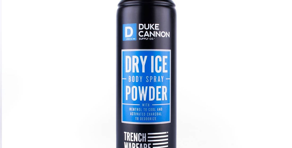 Dry Ice Body Spray Powder