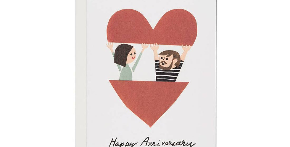 In the Heart Anniversary Card
