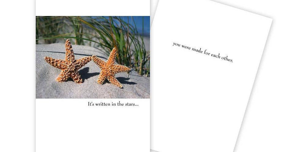 Written in the Stars Anniversary Card