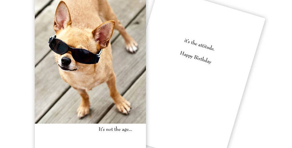 Doggone Birthday Card