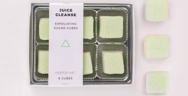 Juice Cleanse Sugar Cubes Gift Box