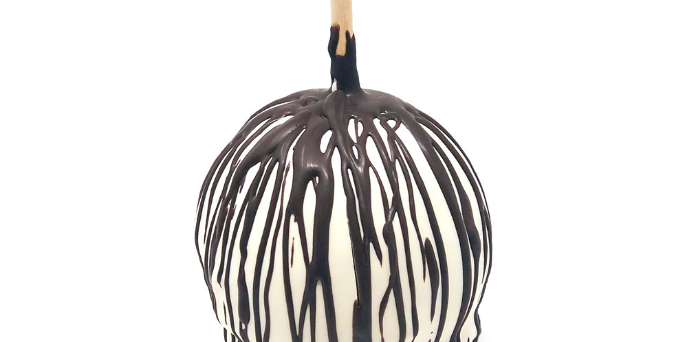 White Chocolate with Dark Chocolate Drizzle