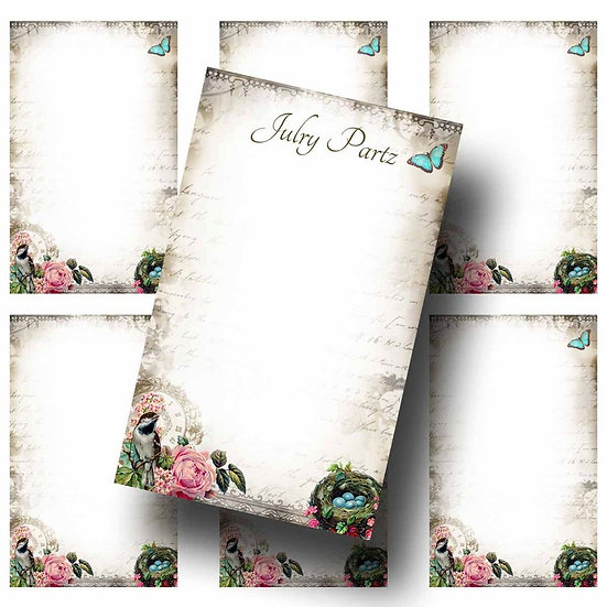 BIRDS NEST•Custom Cards•Labels•Earring Display•Clothing Tags