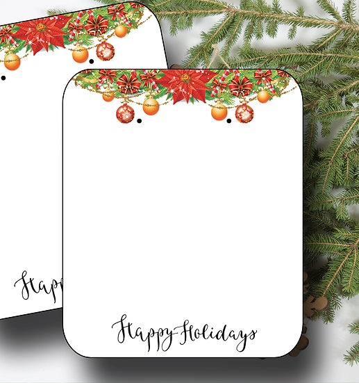 HOLIDAY•Earring Cards•Holiday Tags•Holiday Labels•GARLAND 5