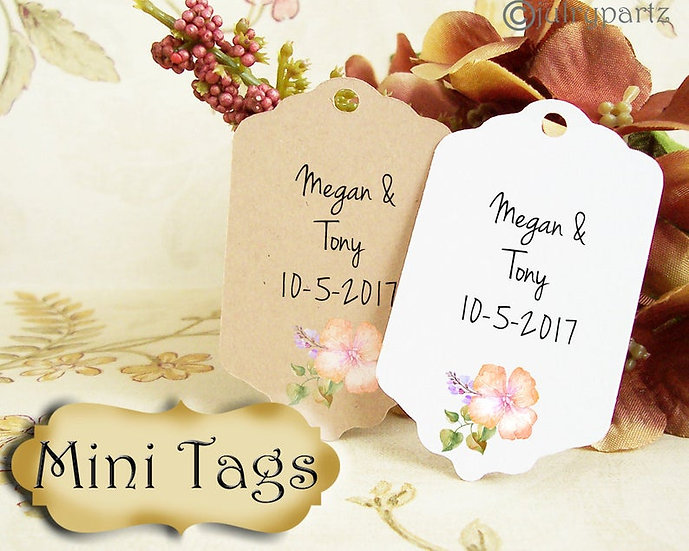 20•MINI TAGS #12 • 1.5 X 2.25 inch•Necklace Tags•Bracelet Tags•Price Tags