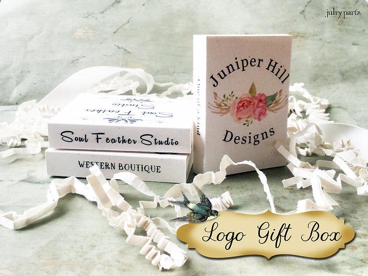 Set of 12 CUSTOM •2x2.60 GIFT BOX•Jewelry Box•Gift Packaging
