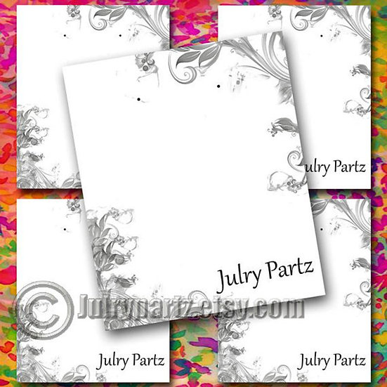CORNER #2•Custom Cards•Labels•Earring Display•Clothing Tags