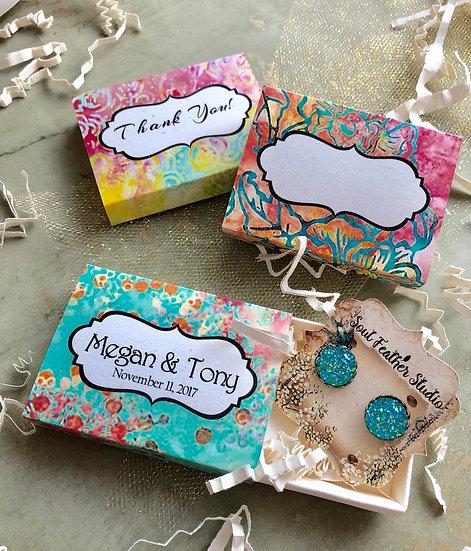 Set of 12 •2x2.60 GIFT BOX•Jewelry Box•Gift Packaging•Boho 6