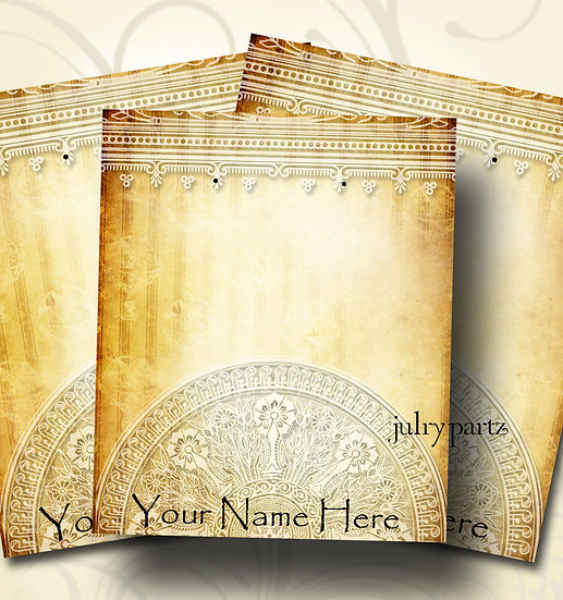 ATTIC TREASURES #2•Custom Cards•Labels•Earring Display•Clothing Tags