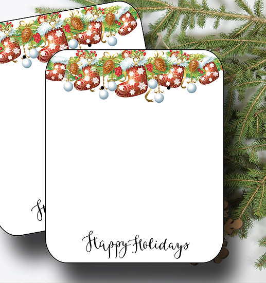 HOLIDAY GARLAND•Earring Cards•Holiday Tags•Holiday Labels•Garland 6