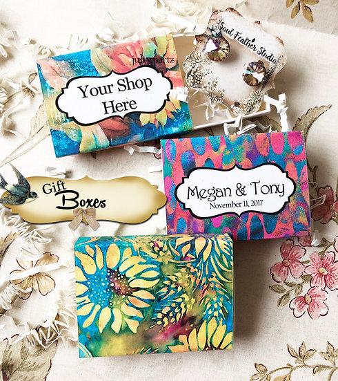 Set of 12 •2x2.60 GIFT BOX•Jewelry Box•Gift Packaging•Boho 4