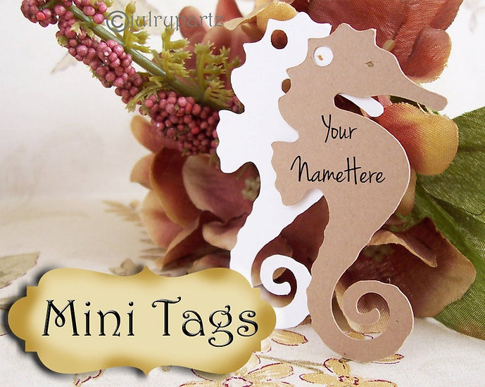 20•MINI TAGS #2 • 1.5 X 2.5 inch•Necklace Tags•Bracelet Tags•Price Tags