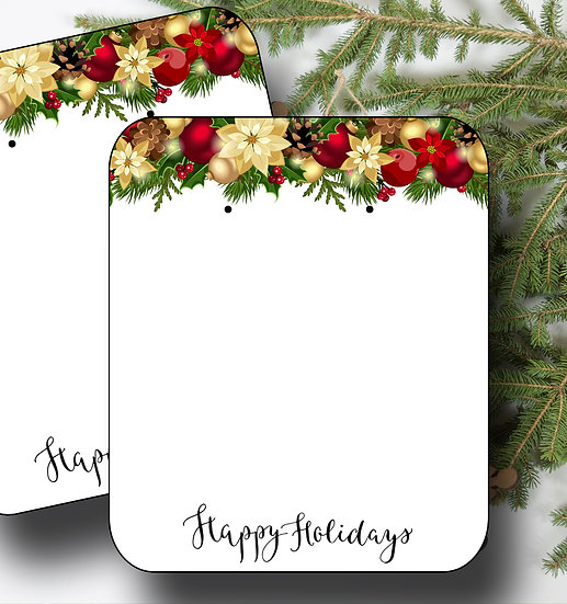 HOLIDAY•Earring Cards•Holiday Tags•Holiday Labels•GARLAND 1