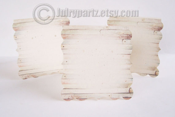 24 DECO OLD PALLET 2.5x2.5•Decorative Ear Cards•Jewelry Cards•Earring