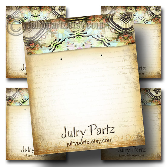 EL PASO•Custom Cards•Labels•Earring Display•Clothing Tags