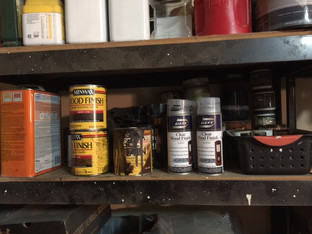 Let's Get Organized! Organizing Your Furniture Painting Supplies