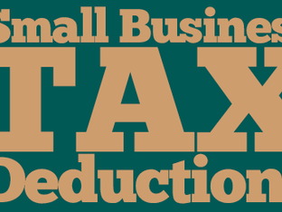 Small Business Tax Deductions / Write Offs
