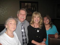 Kathleen, Rick, Mom and Sandy