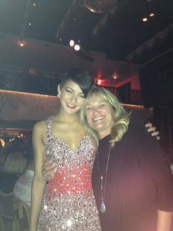 Star of the show Teresa Cesario _El Tucan Miami