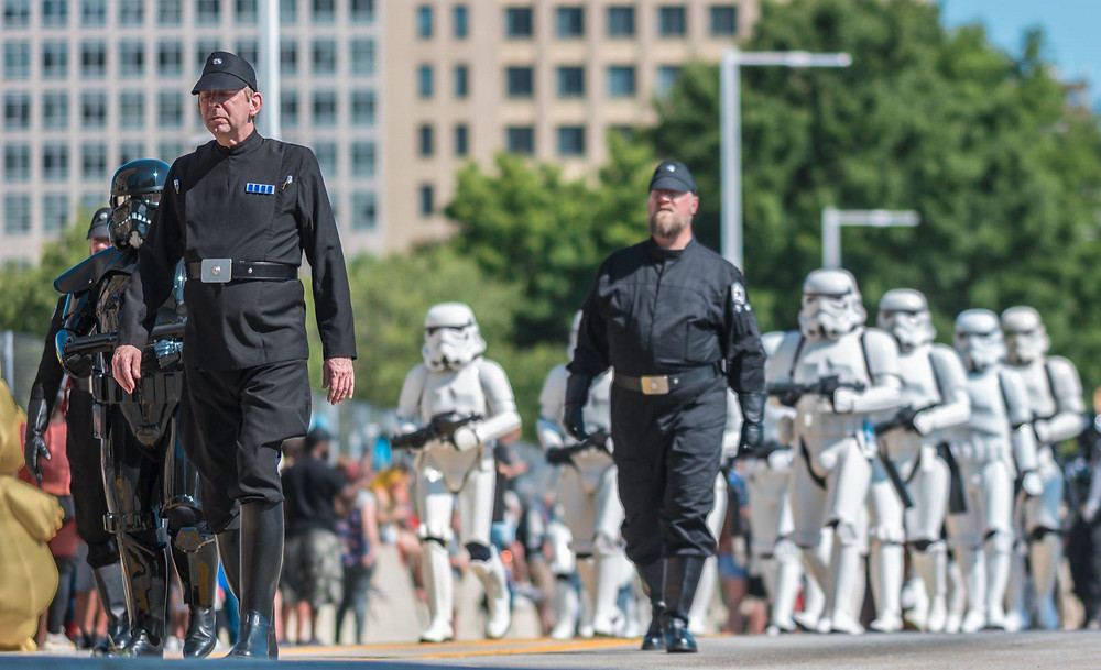 The 501st legion at the Dragon Con Parade
