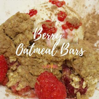 Berry Oatmeal Bars