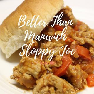 Better Than Manwich Sloppy Joe