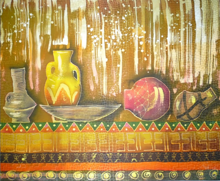 """Африканский натюрморт"" 2008г."