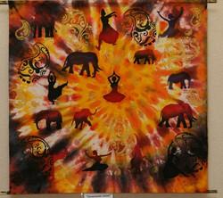 """""""Почитание слона"""" 2012г."""